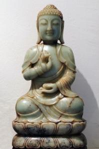 jade buddha face