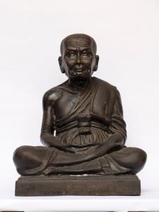 "Wat Changhai BE2500 Luangpu Thuand Limeted 9"" base Buddha Image."
