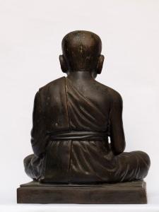 显圣高僧龙波托,佛历2500限量佛像