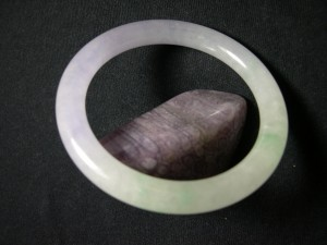 A Purple Jade Bracelet