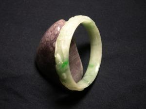 A perfect Myanmer Jade Bracelet