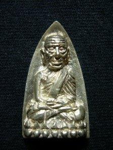 Phra Luangpu Thuad, Silver, 2nd batch, B.E.2539, Wat Changhai.